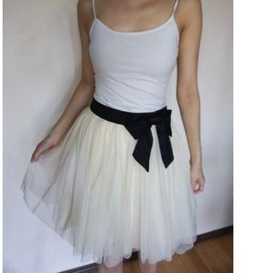 Forever 21 Puffy Skirt with Bow